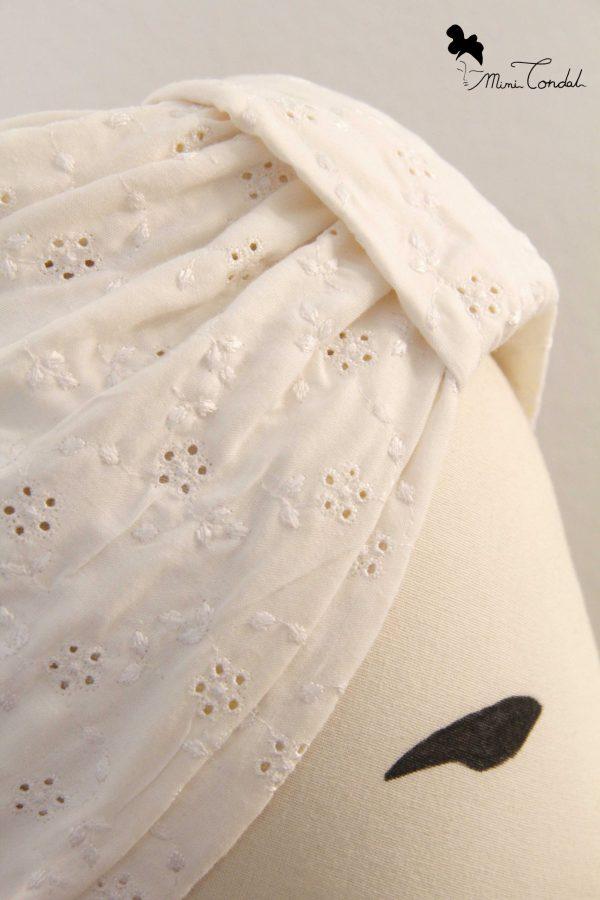 Turbante Sangallo, dettaglio tessuto