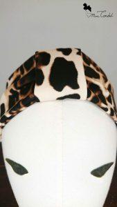 Fascia leopardata, dettaglio frontale