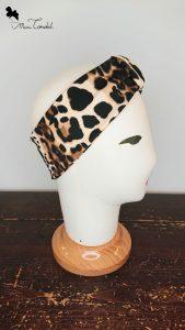 Fascia leopardata, lato